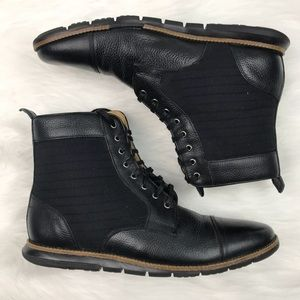 COLE HAAN {9} Grand OS Black Leather Boot